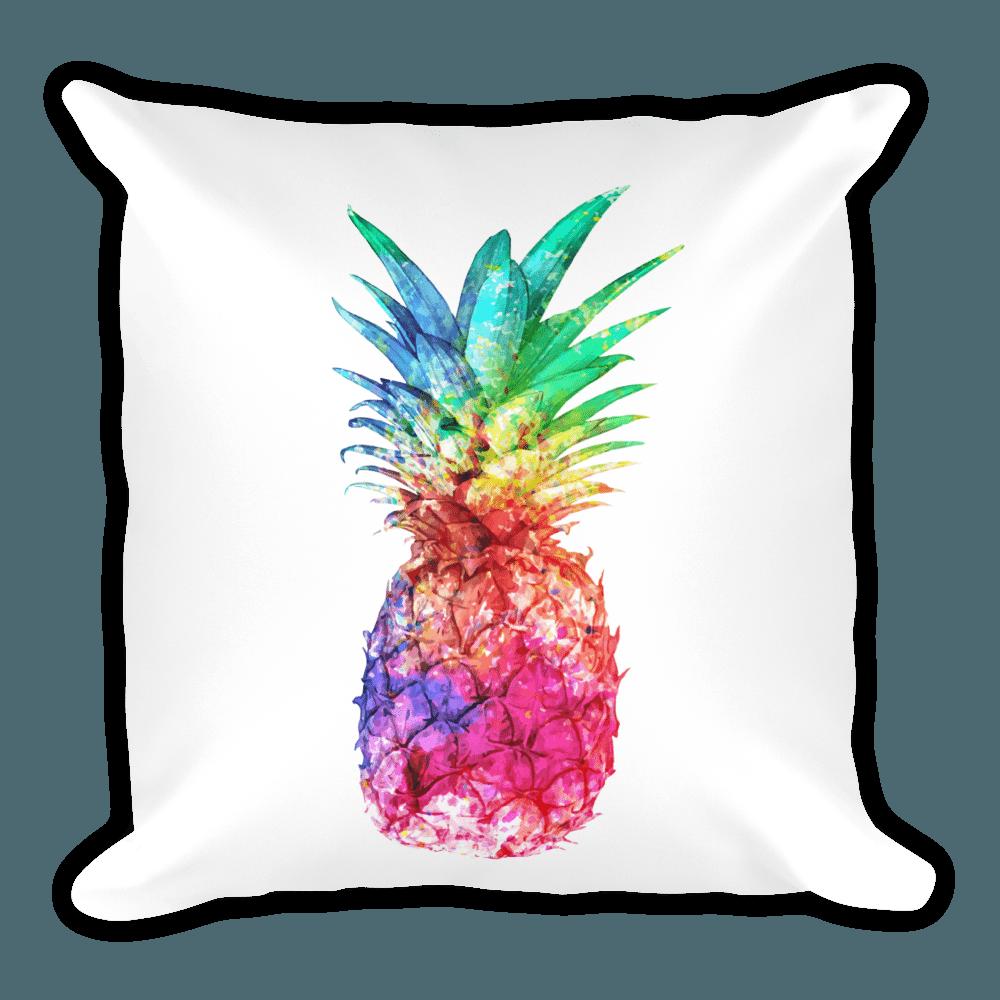 inch linen gold com pillow x case amazon kitchen cotton dp cushion home pineapple cover throw
